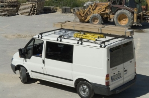 Belki dachowe do Ford TRANSIT do 2000r wersja NISKA